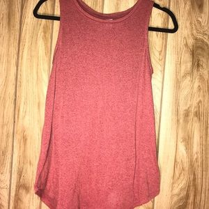 Red Old Navy long tank